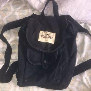 Navy Blue Hollister BagPack